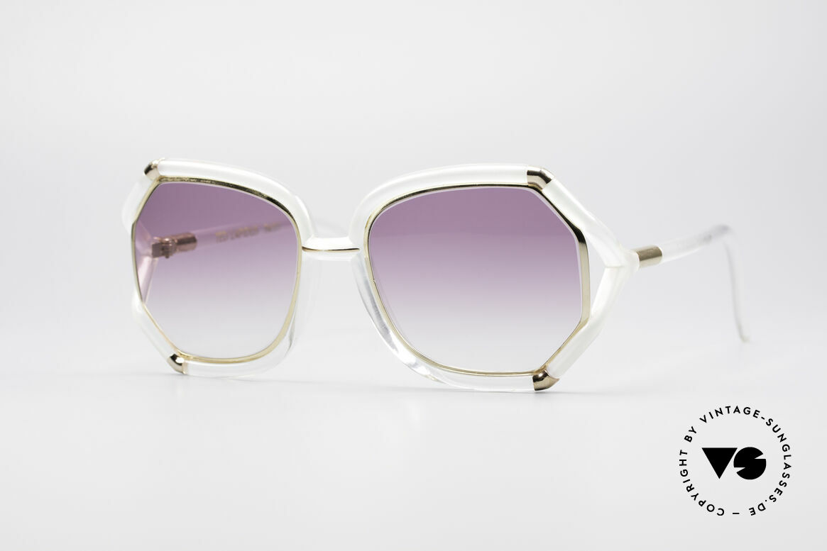 Ted Lapidus B08 70's Designer Sunglasses, lovely vintage sunglasses by Ted Lapidus of the 70's, Made for Women