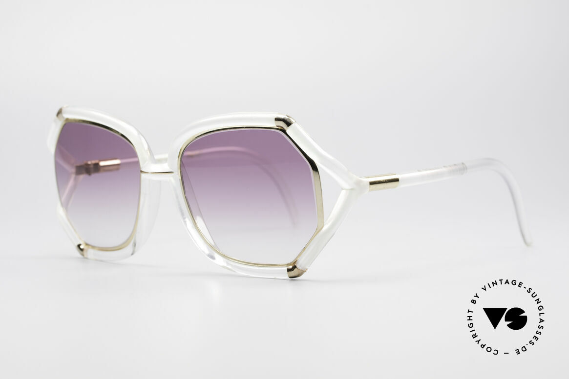 Ted Lapidus B08 70's Designer Sunglasses, worn by the movie stars of the 70s (St. Tropez style), Made for Women