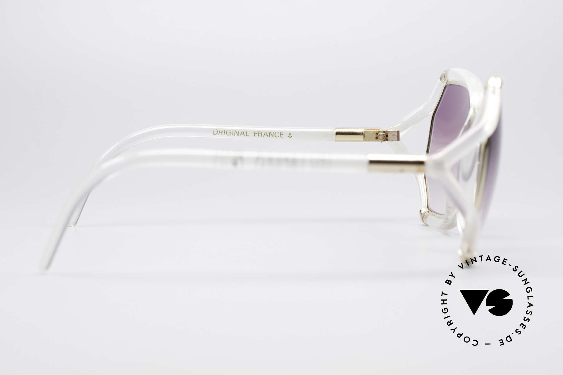 Ted Lapidus B08 70's Designer Sunglasses, NO retro oversize design, but a 40 years old original, Made for Women