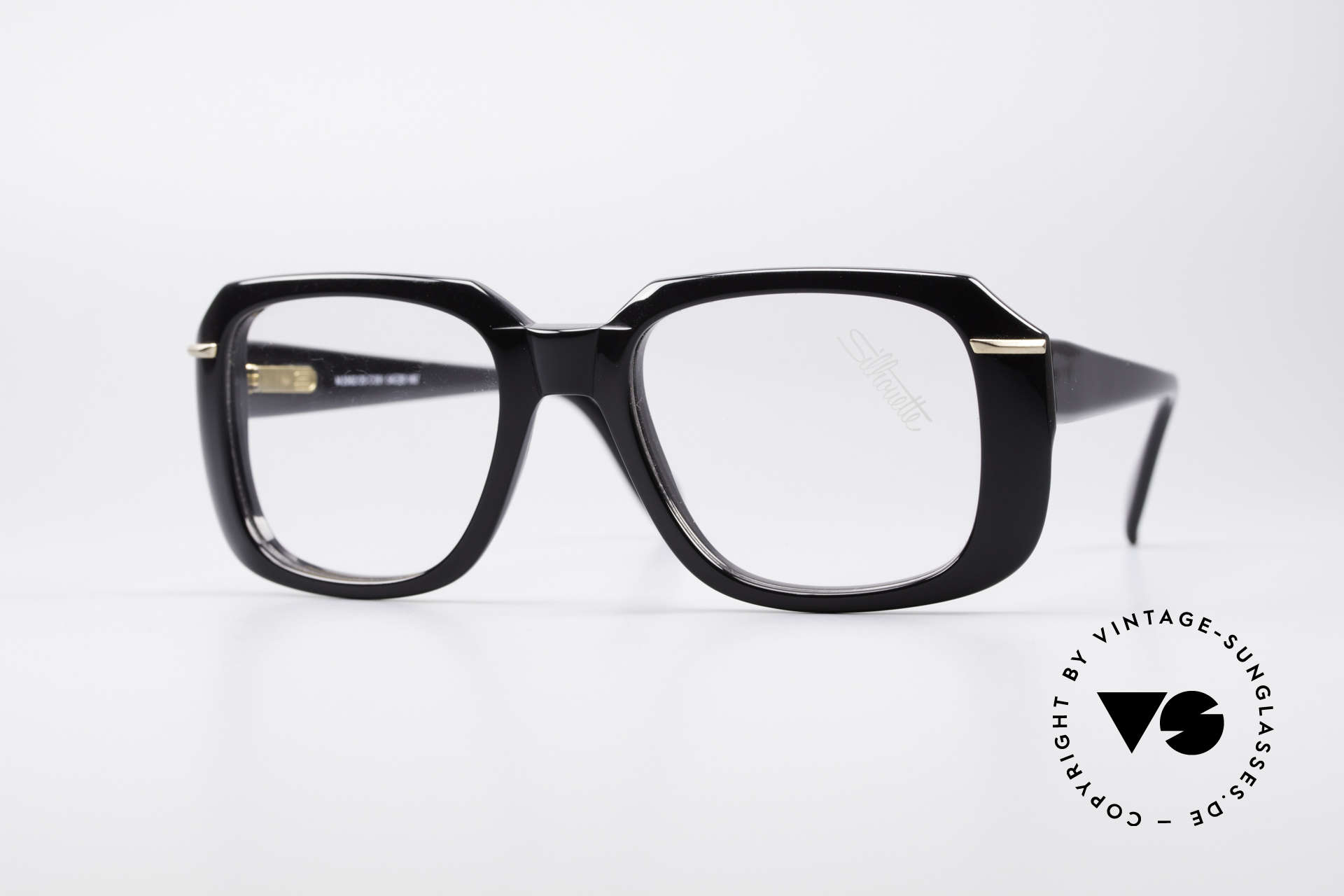 Silhouette M2062 Old School Eyeglasses, massive 'Old School' Silhouette vintage glasses, Made for Men