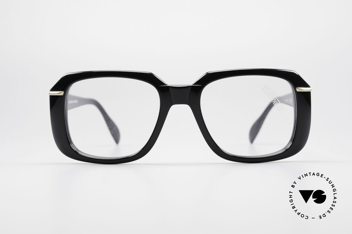 Silhouette M2062 Old School Eyeglasses, beamy frame outline and dimensions; monolithic, Made for Men