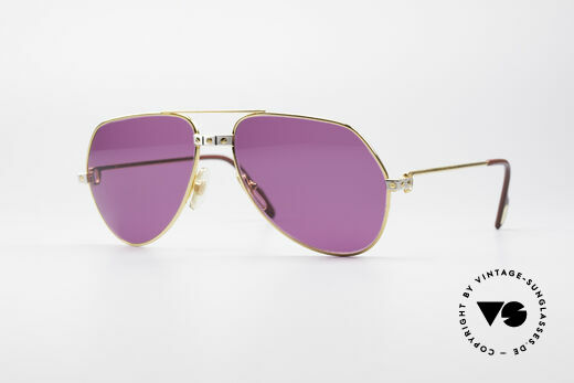 Cartier Vendome Santos - M 80's Luxury Shades Details