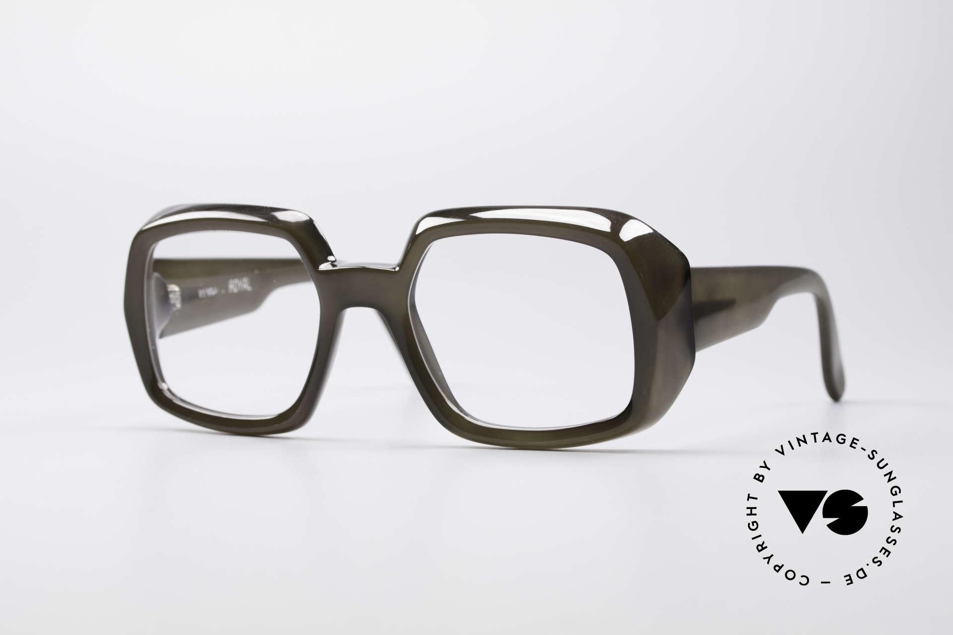ViennaLine Royal 1601 Goliath Monster Specs, incredible vintage old school eyeglasses by ViennaLine, Made for Men