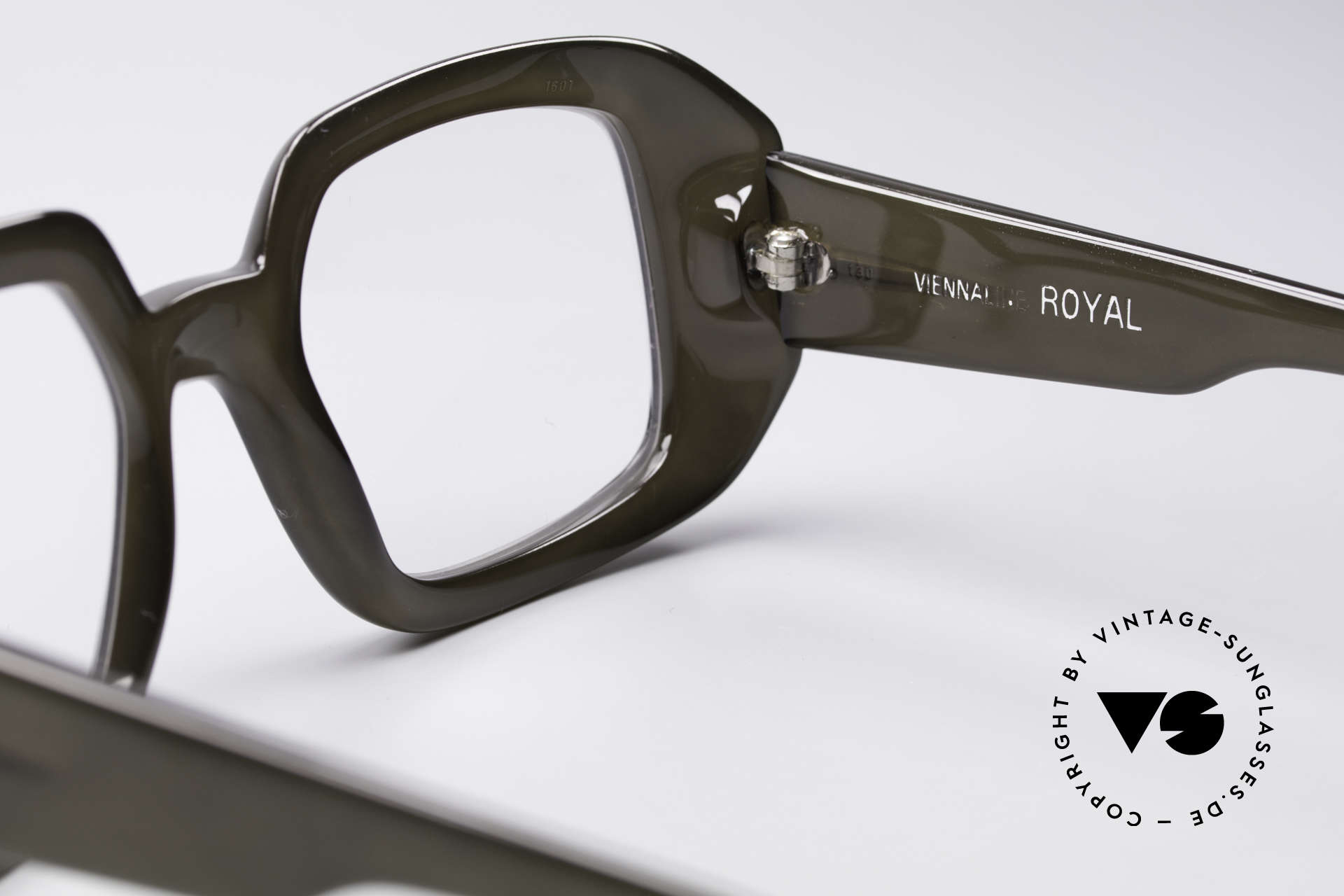 ViennaLine Royal 1601 Goliath Monster Specs, unworn vintage 70's rarity in high-end quality by OPTYL, Made for Men