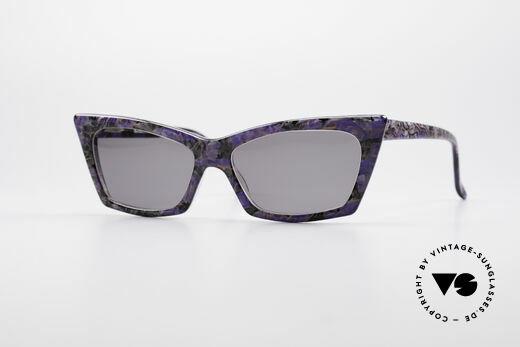 Alain Mikli 0142 / 397 Ladies 80's Sunglasses Details