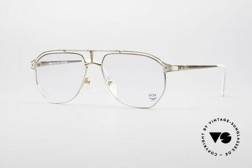 MCM München 6 Luxury Titanium Glasses Details