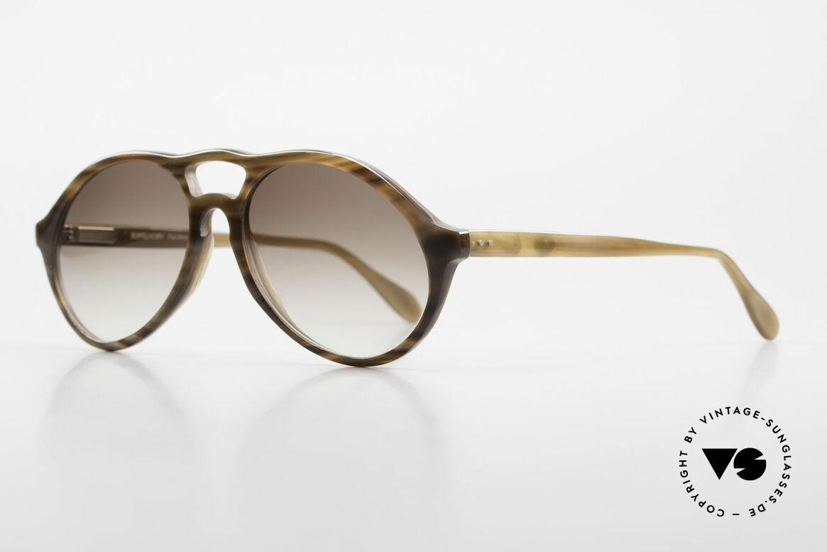Bugatti 64852 Genuine Buffalo Horn Glasses, true rarity (pure natural material - handmade), vertu!, Made for Men