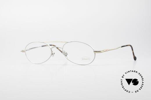 Bugatti 22939 90's Men's Eyeglasses Details