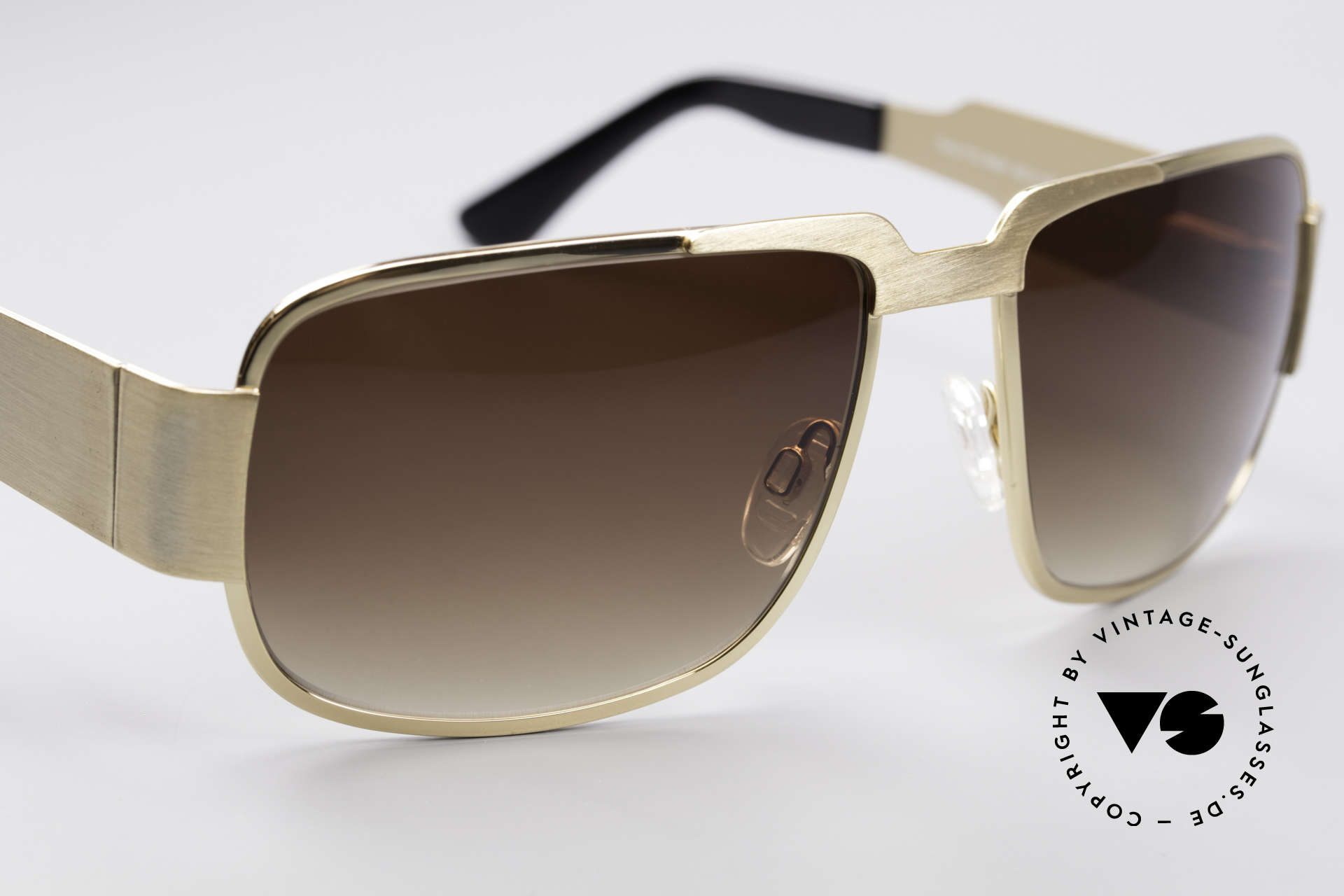 Neostyle Nautic 2 Elvis Presley Sunglasses, 54g heavy and 145mm frame width: distinctive XXL shades, Made for Men