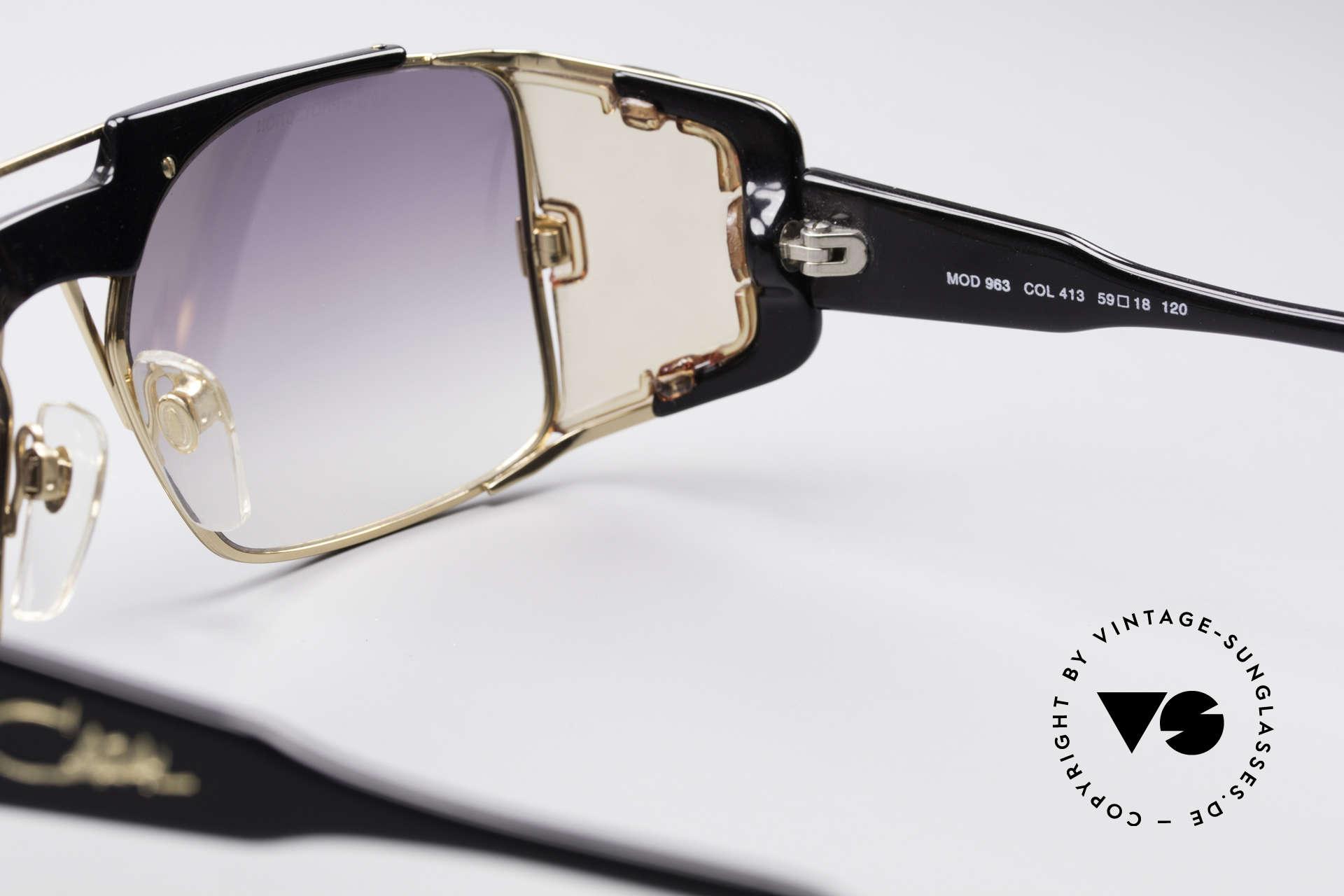 0d9ffdd1f546 Sunglasses Cazal 963 True Vintage Old School Shades