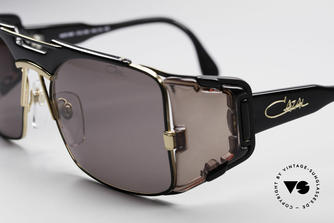 Cazal 963 True Vintage Hip Hop Shades, unworn rarity incl. orig. box & pouch (collector's item), Made for Men and Women