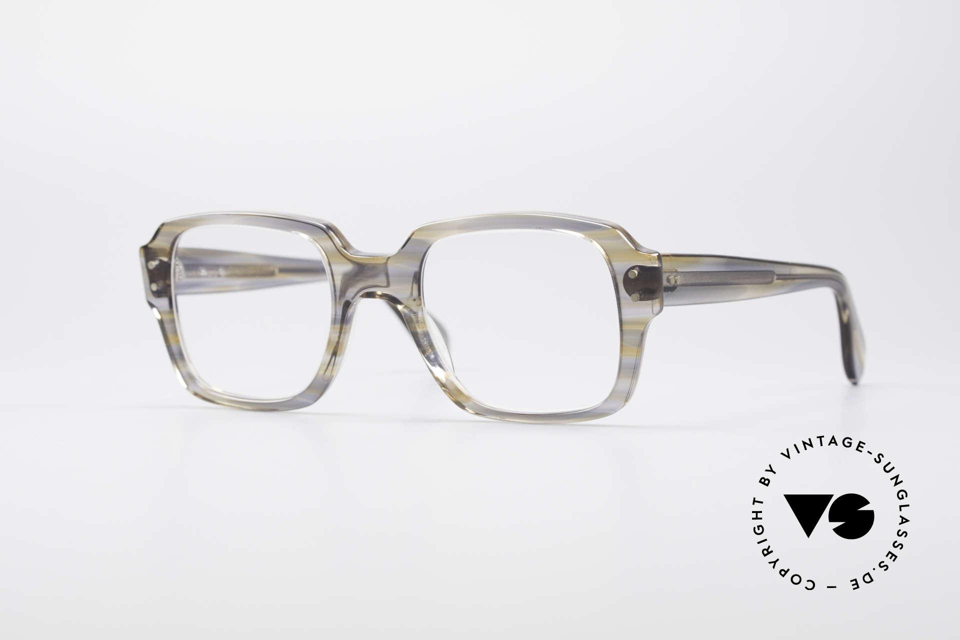 Metzler 448 70's Original Nerd Glasses, old original Metzler eyeglass-frame from the 70's/80's, Made for Men