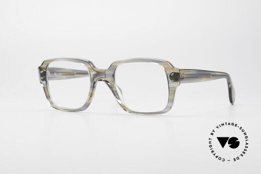 Metzler 448 70's Original Nerd Glasses Details