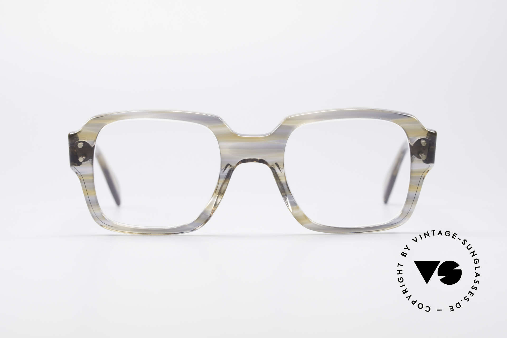 Metzler 448 70's Original Nerd Glasses, a true classic at that time - reclaimed nerd style today, Made for Men