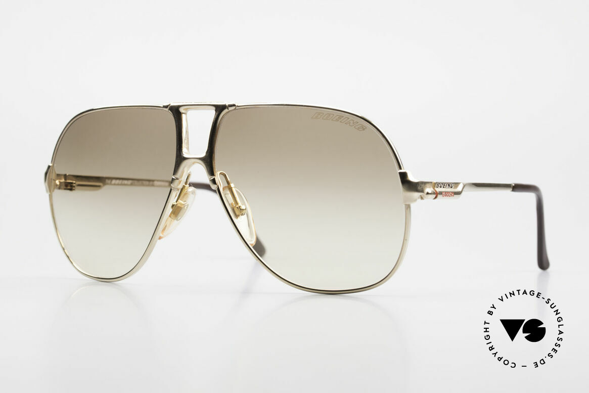 Boeing 5700 Famous 80's Pilots Shades, The BOEING Collection by Carrera from 1988/1989, Made for Men and Women