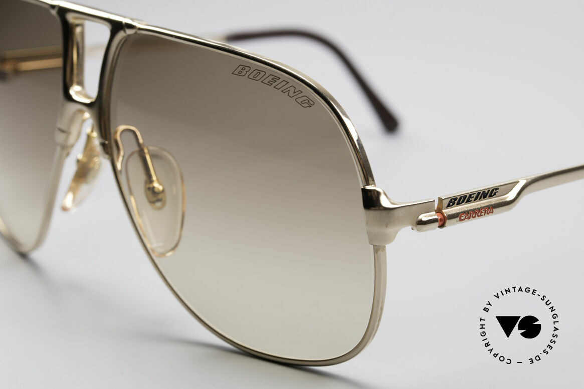 "Boeing 5700 Famous 80's Pilots Shades, ""SMALL"" 80's size (60/12) = a MEDIUM size, today, Made for Men and Women"