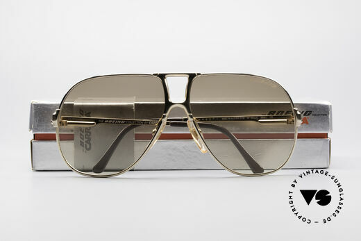 Boeing 5700 Famous 80's Pilots Shades, NO retro sunglasses, but a precious old ORIGINAL!, Made for Men and Women