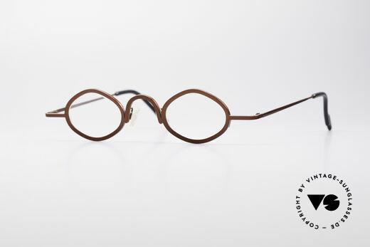 Theo Belgium Bang Avant-Garde Vintage Specs Details
