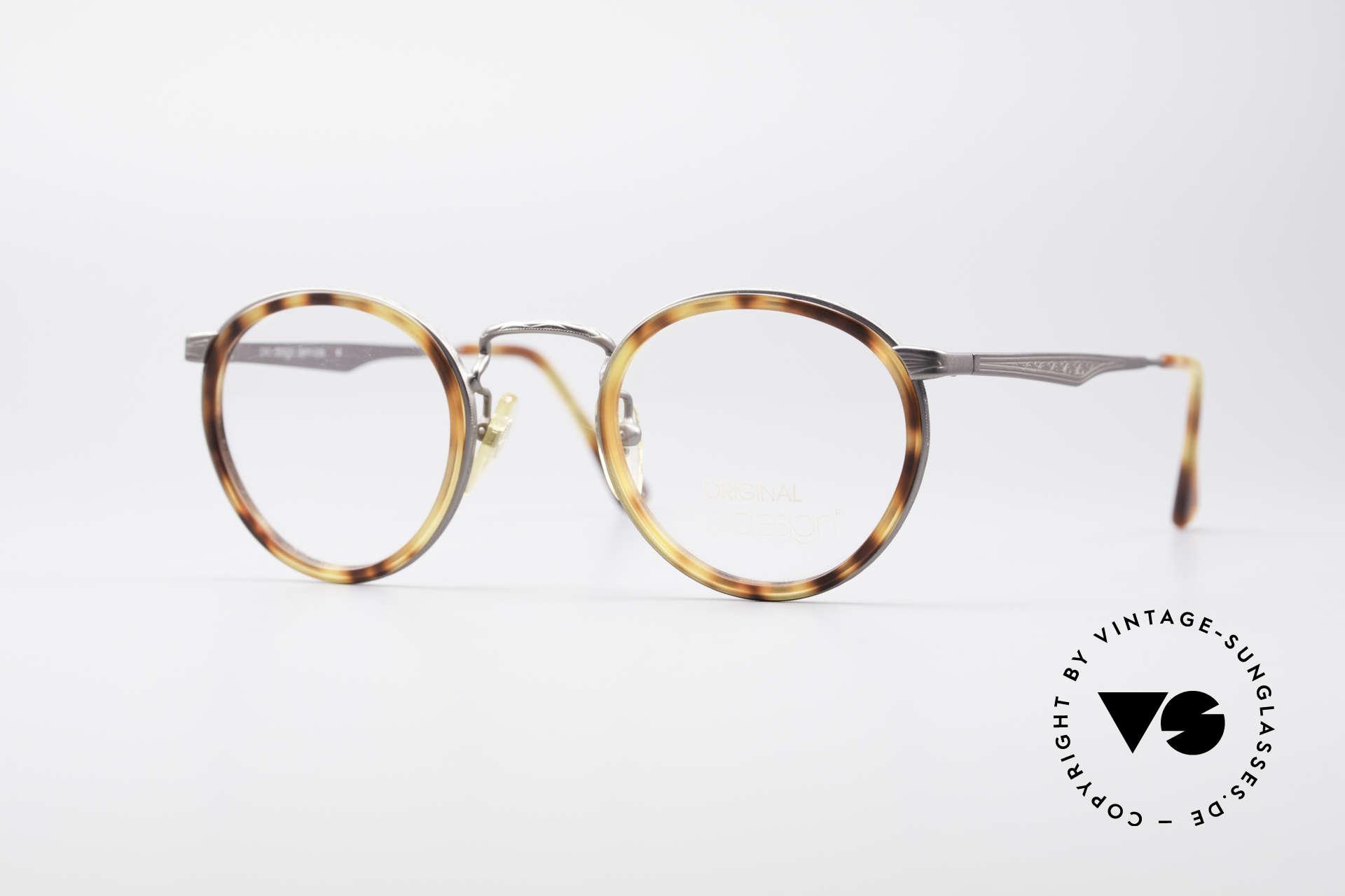 ProDesign Denmark Club 55C Panto Glasses, Pro Design Optic Studio Denmark vintage glasses, Made for Men