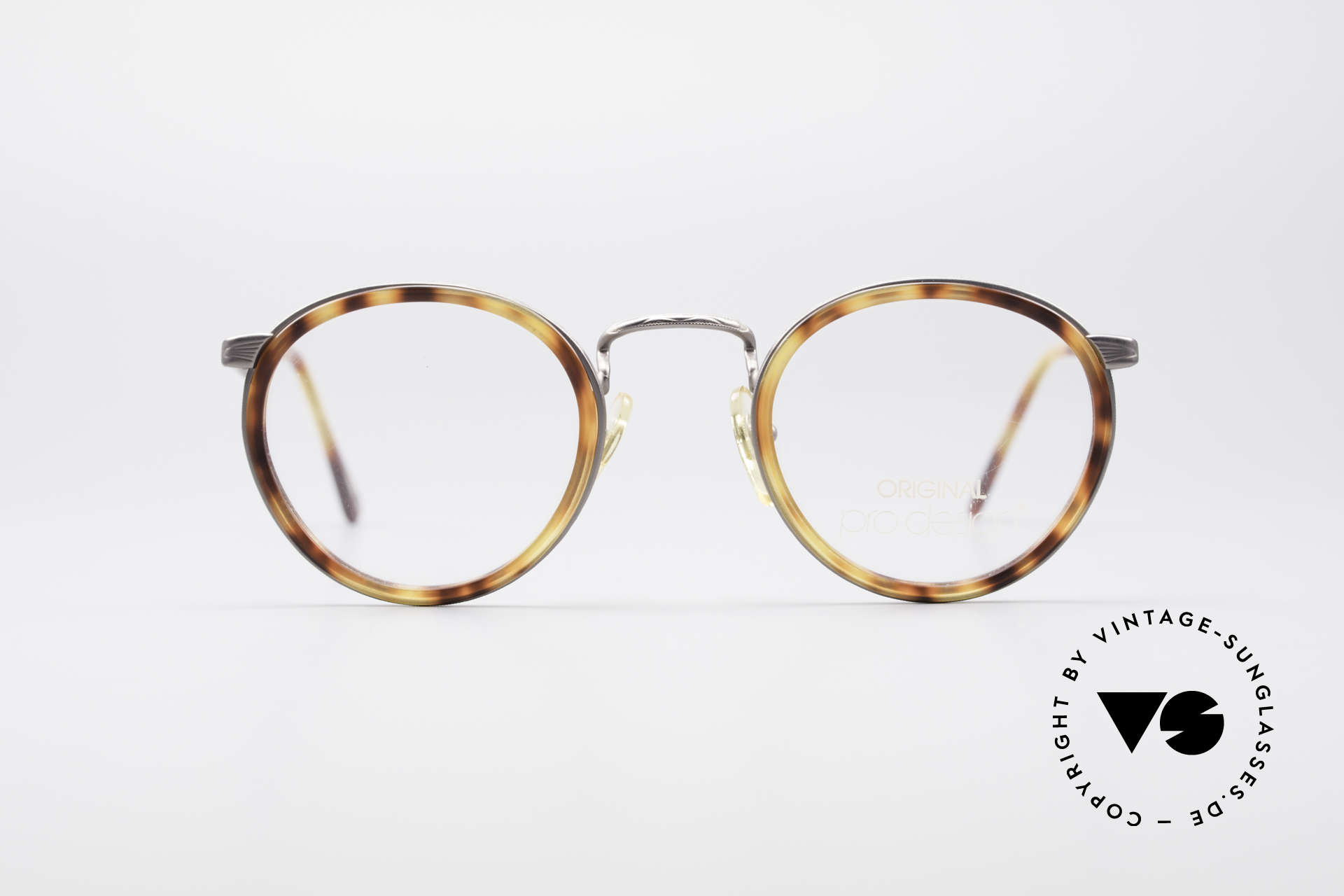 ProDesign Denmark Club 55C Panto Glasses, panto design with windsor rings: a true CLASSIC!, Made for Men