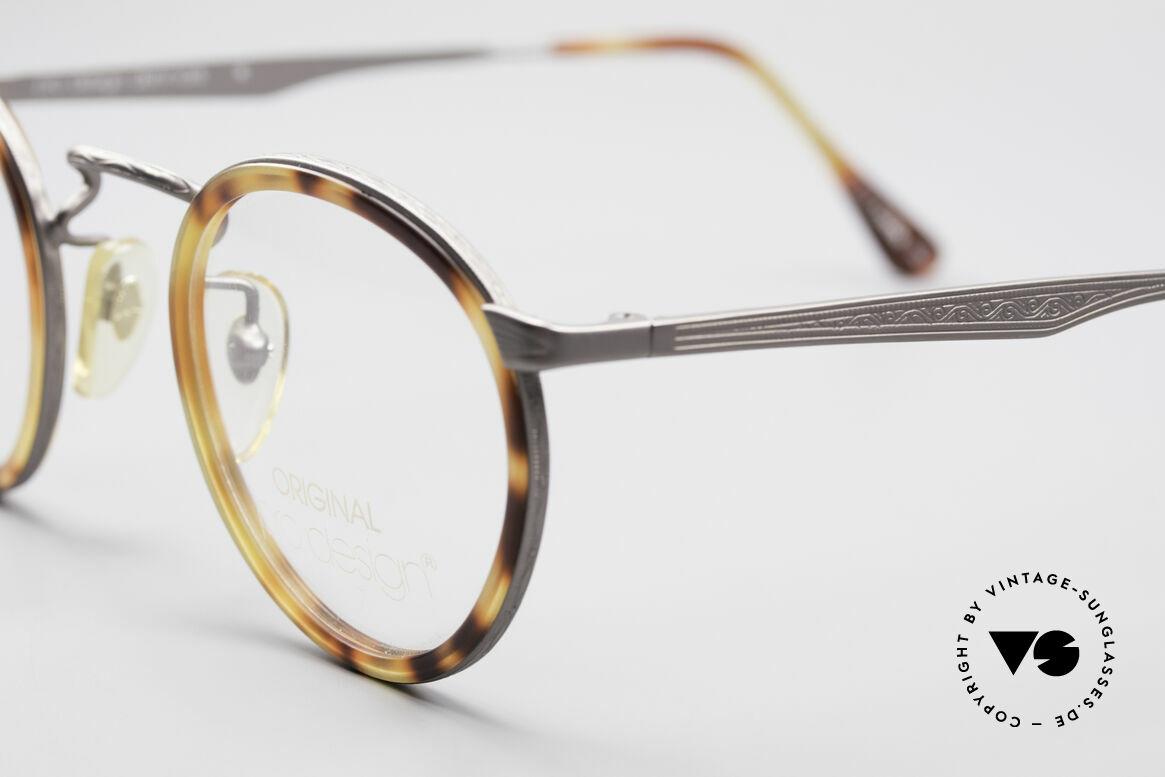 ProDesign Denmark Club 55C Panto Glasses, timeless elegant combination of colors & pattern, Made for Men
