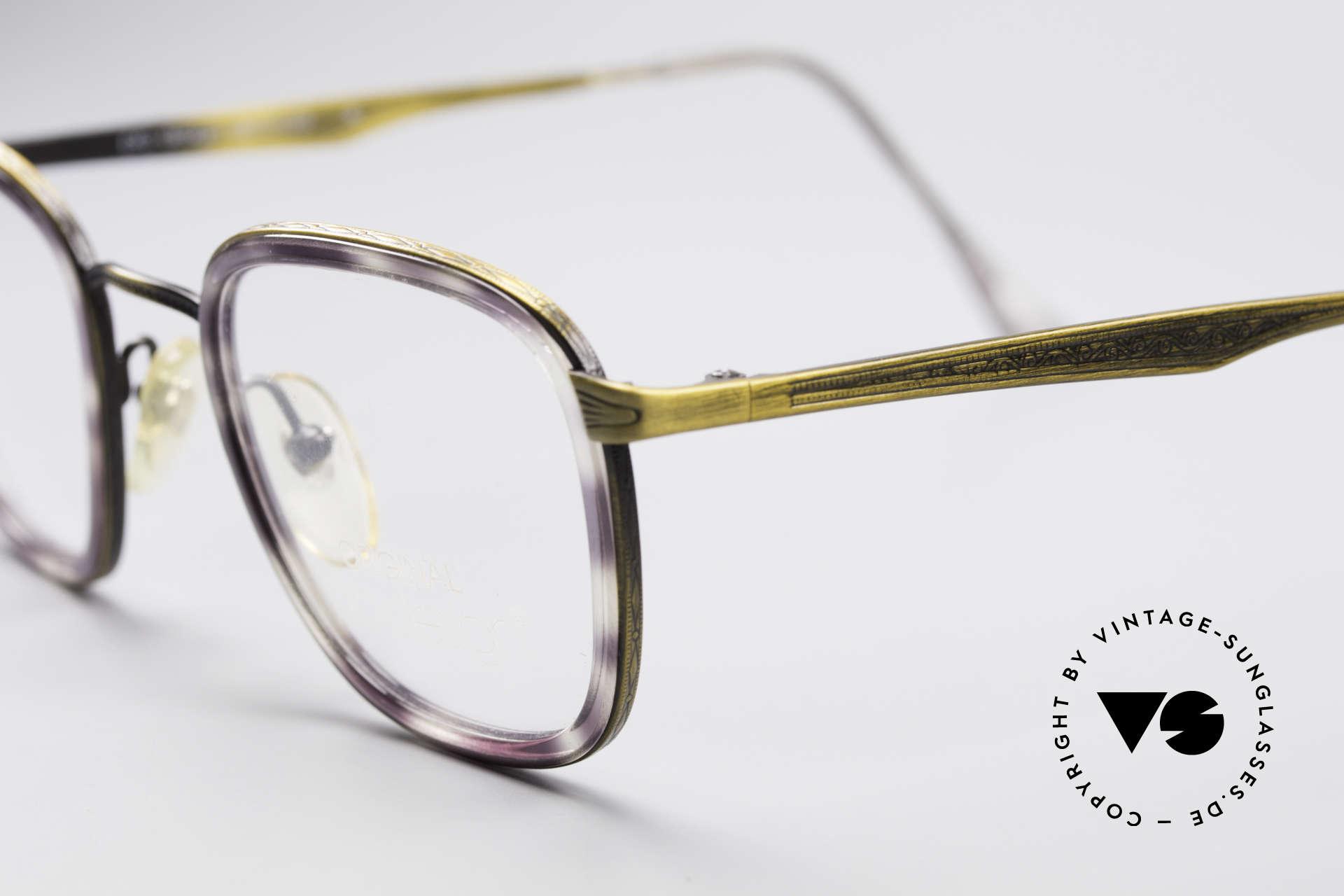ProDesign Denmark Club 88A Vintage Glasses, great color combination (purple havana / brass), Made for Men