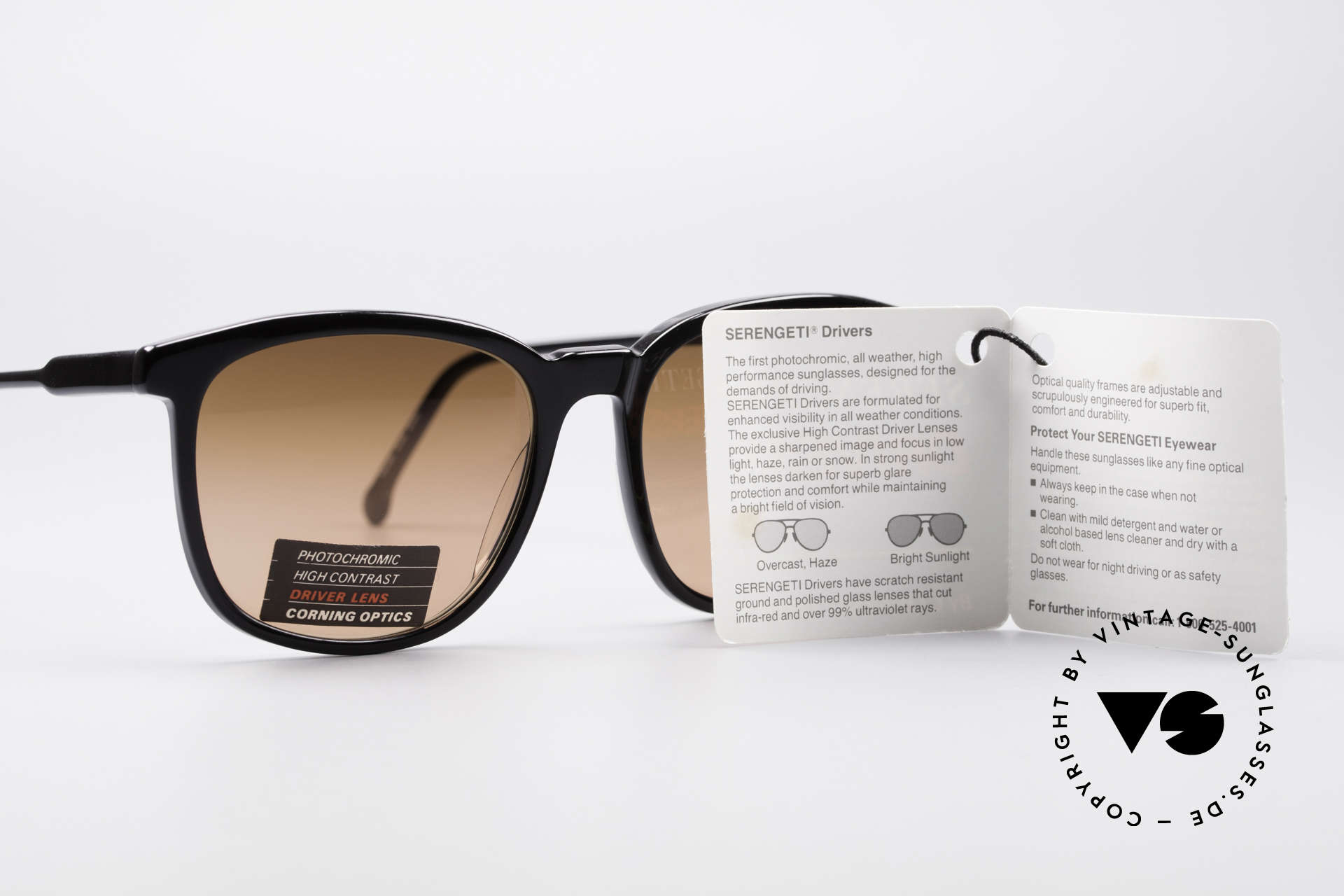 Serengeti Drivers 5343 Drivers Sunglasses, NO retro shades; a 30 years old original in SMALL size!!, Made for Men and Women