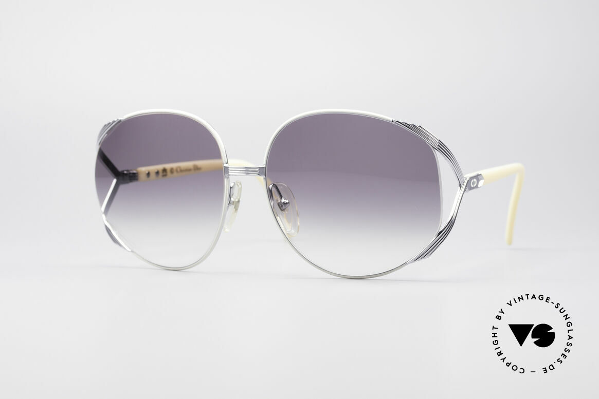 Christian Dior 2250 Amy Adams American Hustle, oversized XL vintage ladies sunglasses by Christian Dior, Made for Women