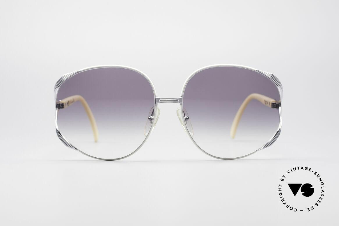 Christian Dior 2250 Amy Adams American Hustle, feminine elegant design with huge gray-gradient lenses, Made for Women