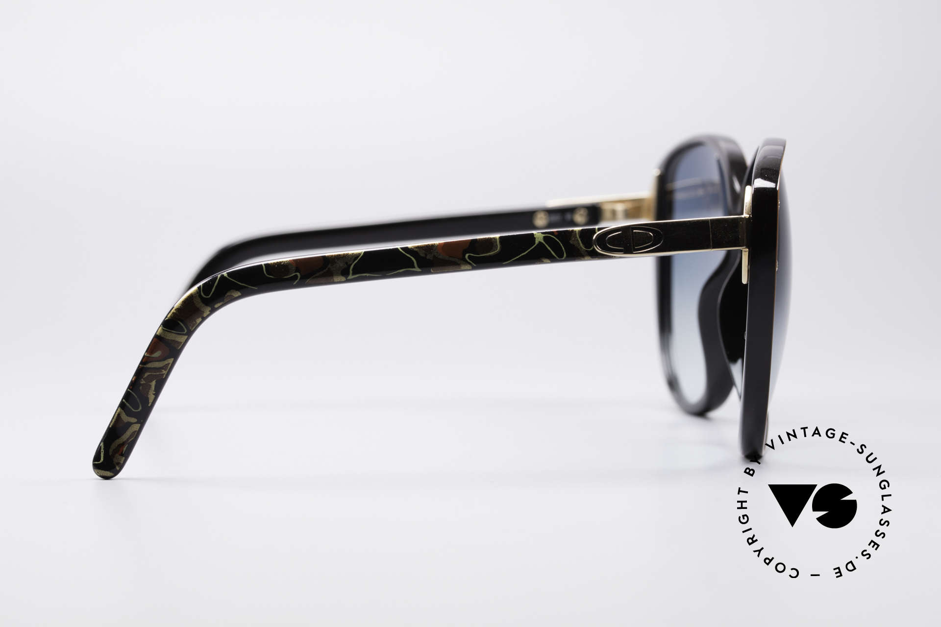 """Christian Dior 2277 XL 70's Ladies Sunglasses, superlative style for true """"flower power"""" enthusiasts, Made for Women"""