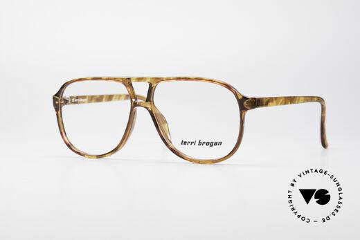 Terri Brogan 8673 Optyl Vintage Glasses Details