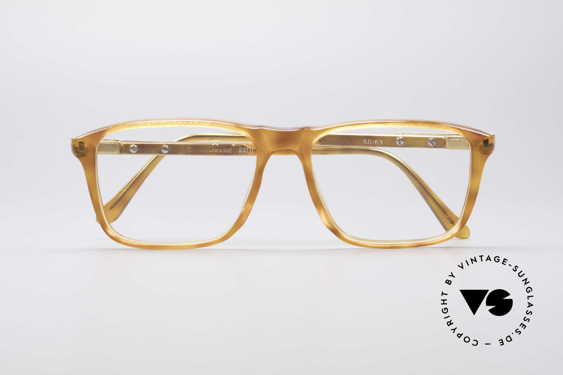 Persol Manager 13 Ratti Gold Plated 80's Frame, frame can be glazed with optical lenses of any kind, Made for Men