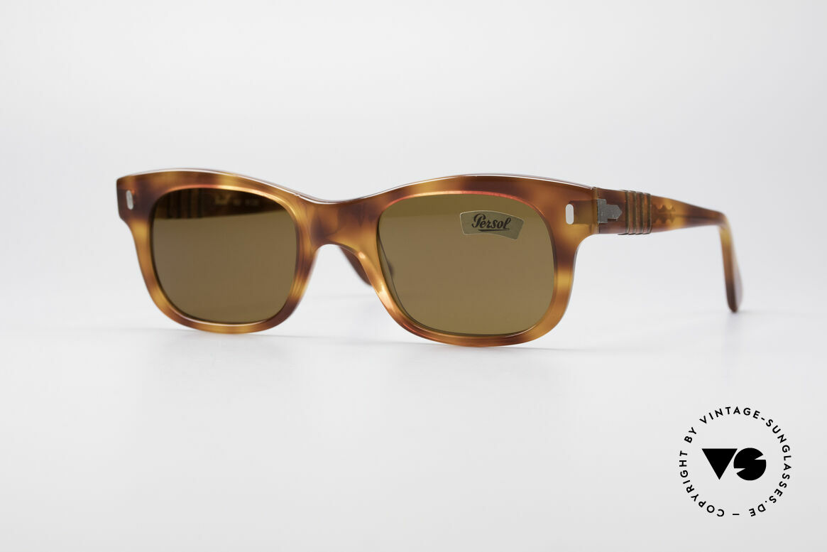 Persol 852 Ratti True Vintage 80's Shades, vintage 80's designer sunglasses by Persol Ratti, Italy, Made for Men and Women