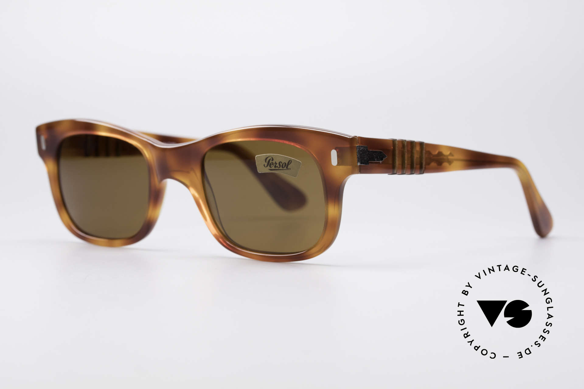 Persol 852 Ratti True Vintage 80's Shades, high-end quality (legendary mineral lenses, 100% UV), Made for Men and Women
