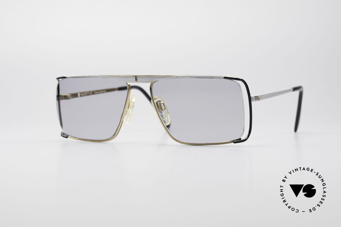 Neostyle Boutique 640 Square Vintage Frame, distinctive designer sunglasses by Neostyle, Germany, Made for Men and Women