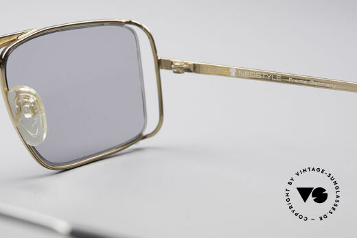 Neostyle Boutique 640 Square Vintage Frame, NO retro shades; but an unworn old original from 1986, Made for Men and Women