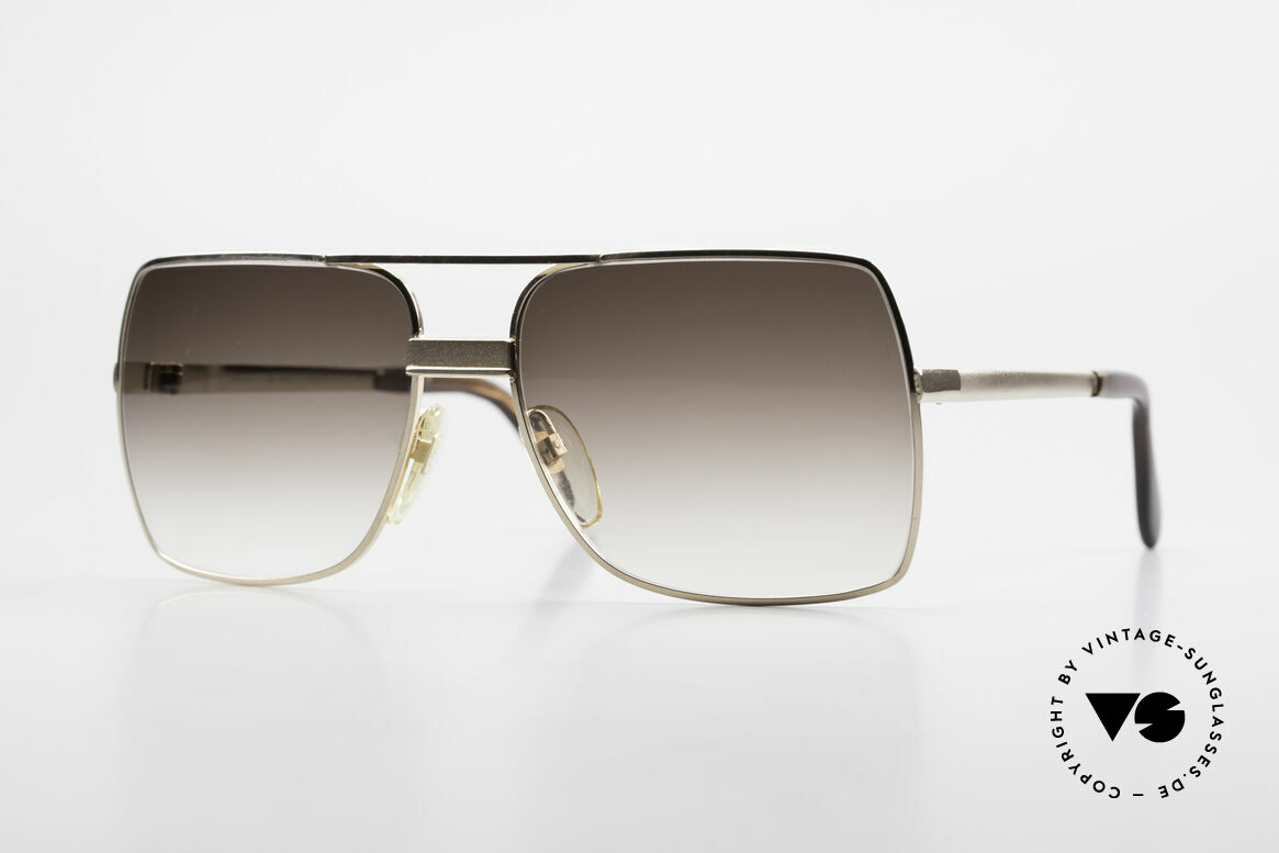 Neostyle Office 10 Gold Filled 70's Sunglasses, precious 70's gold-doublé (gold filled) Neostyle frame, Made for Men