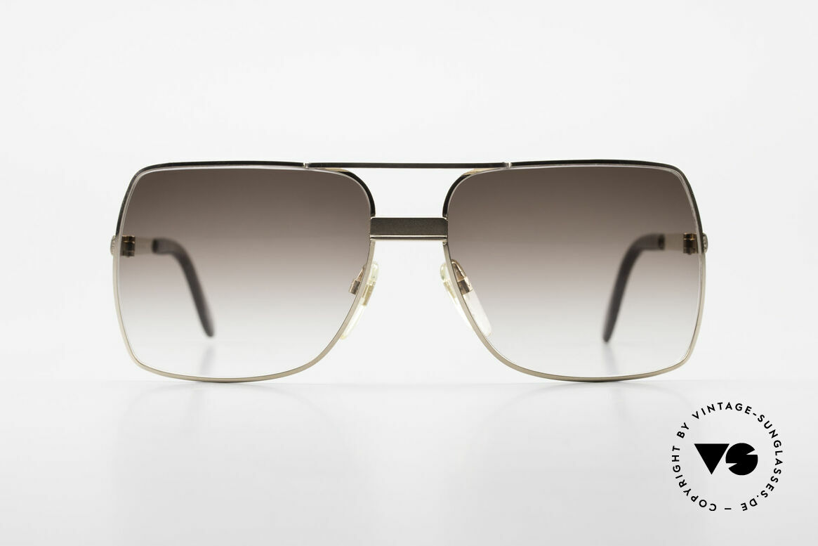 Neostyle Office 10 Gold Filled 70's Sunglasses, 1/20 10kt proportion (1/20 of the metal are 10kt gold), Made for Men
