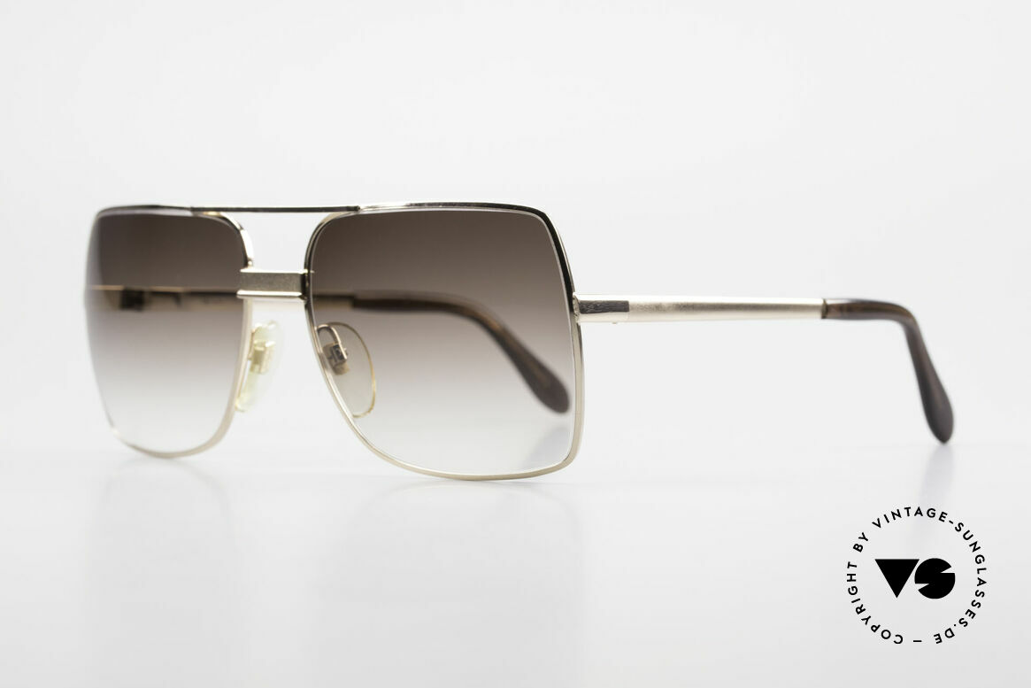 Neostyle Office 10 Gold Filled 70's Sunglasses, outstanding workmanship (You must feel this!), vertu!, Made for Men