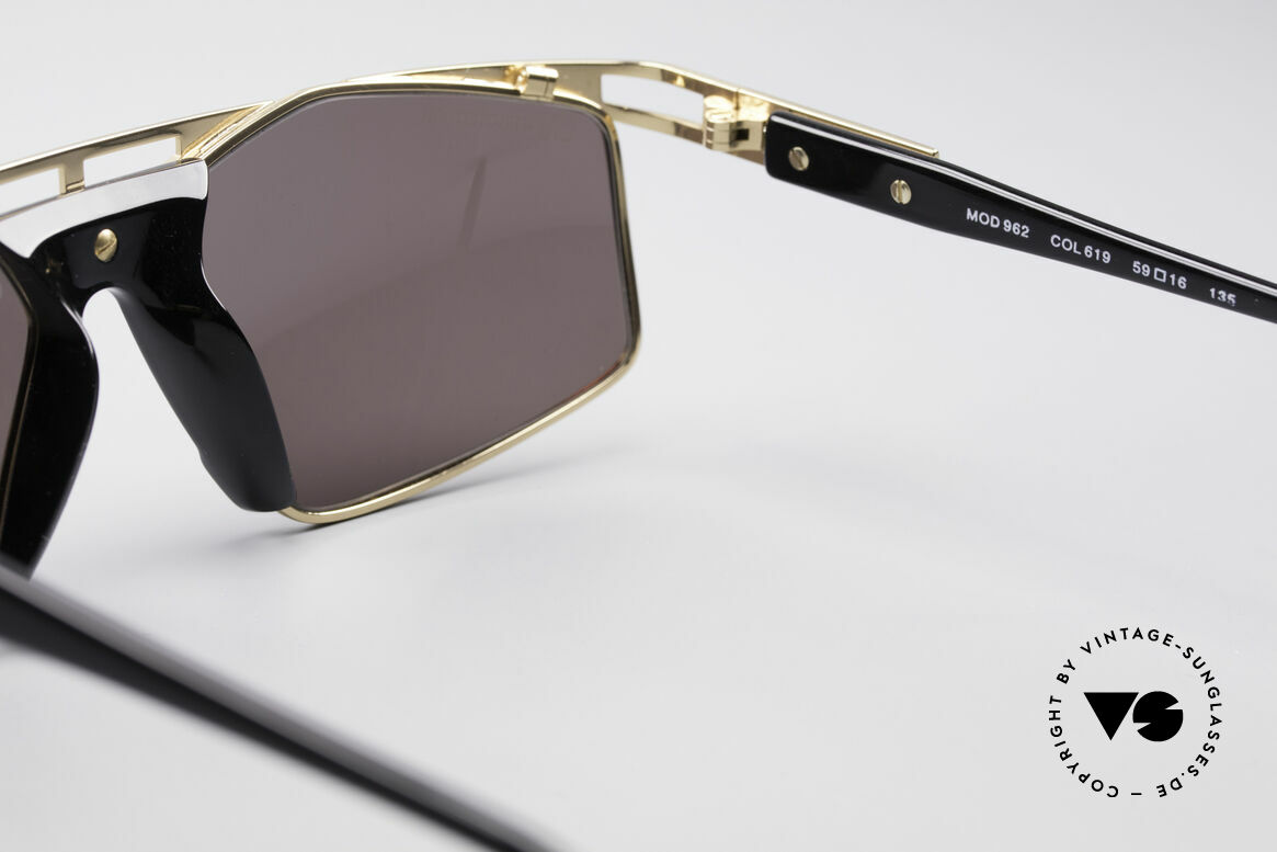 Cazal 962 Sporty Designer Shades, NO RETRO FASHION, but a genuine 25 years old rarity!, Made for Men and Women