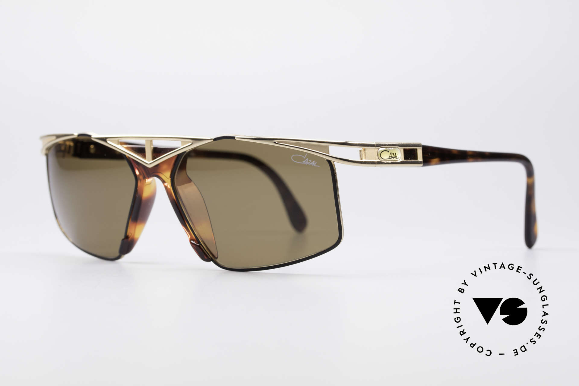 Cazal 962 90s Designer Sunglasses, grand combination of color concept, design & materials, Made for Men and Women