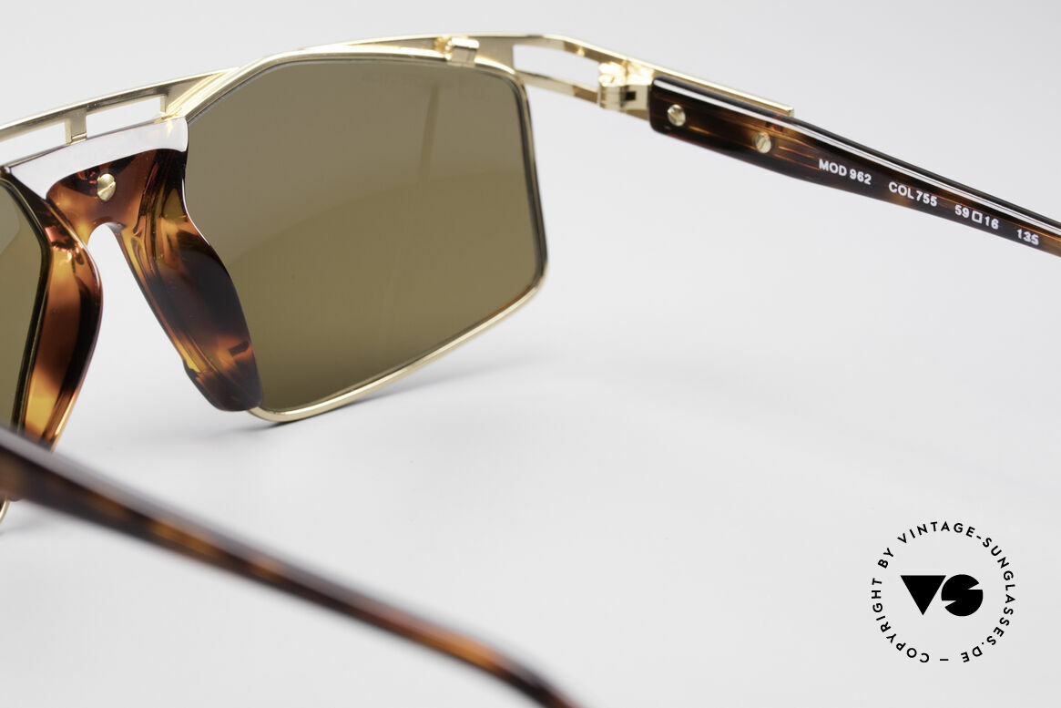 Cazal 962 90s Designer Sunglasses, NO RETRO FASHION, but a genuine 25 years old rarity!, Made for Men and Women