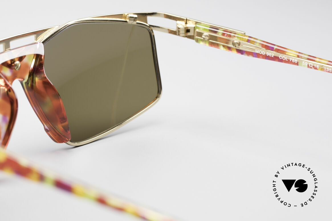 Cazal 962 Sporty Vintage Shades, NO RETRO FASHION, but a genuine 25 years old rarity!, Made for Men and Women