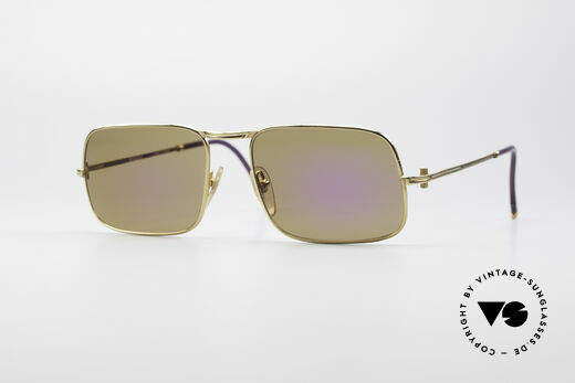 Boucheron 111.S 90's Luxury Sunglasses Details