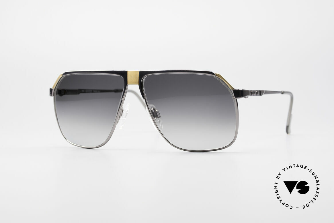 Gucci 1200 80's Luxury Sunglasses, sophisticated Gucci designer shades from Italy, Made for Men