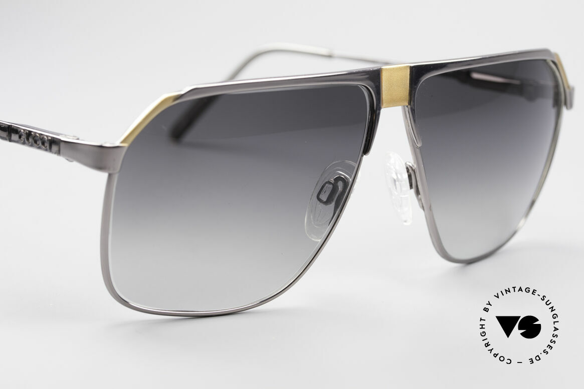Gucci 1200 80's Luxury Sunglasses, NO RETRO EYEWEAR, but a 30 years old unicum, Made for Men