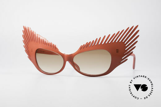 Alain Mikli MYSTERY Haute Couture Vintage Shades Details
