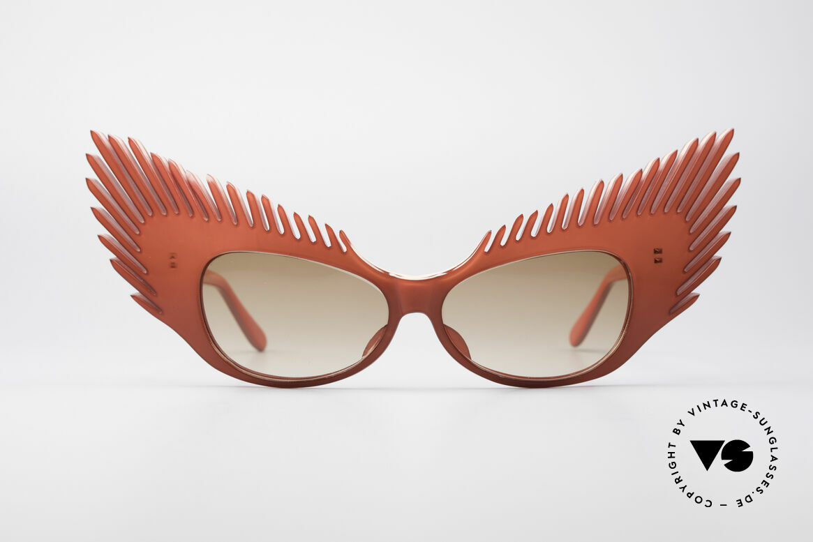 Alain Mikli MYSTERY Haute Couture Vintage Shades, terrific ALAIN MIKLI PARIS vintage 80's sunglasses, Made for Women
