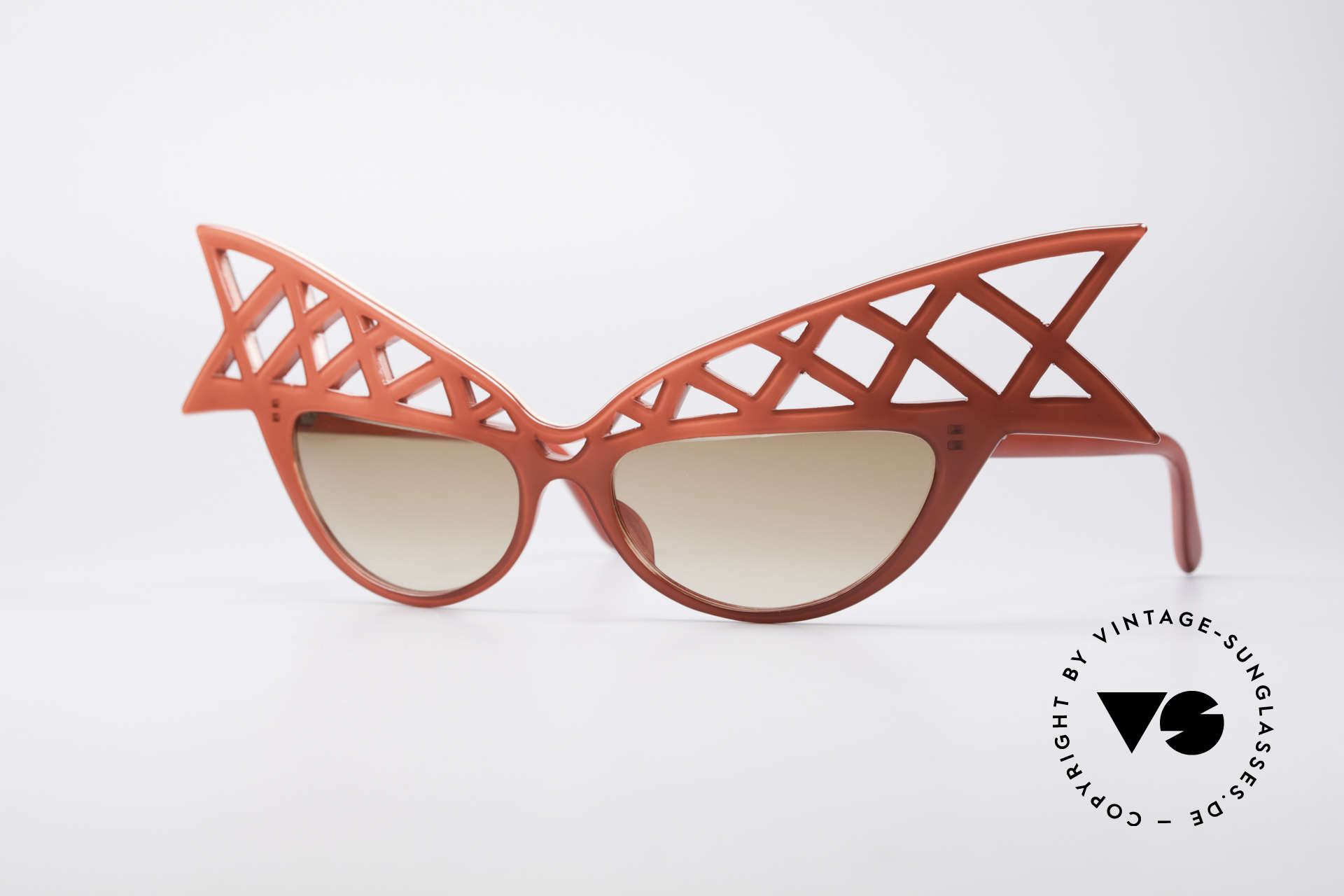 Alain Mikli WINGS Haute Couture Vintage Shades, ultra-rare Alain Mikli Paris WINGS vintage sunglasses, Made for Women