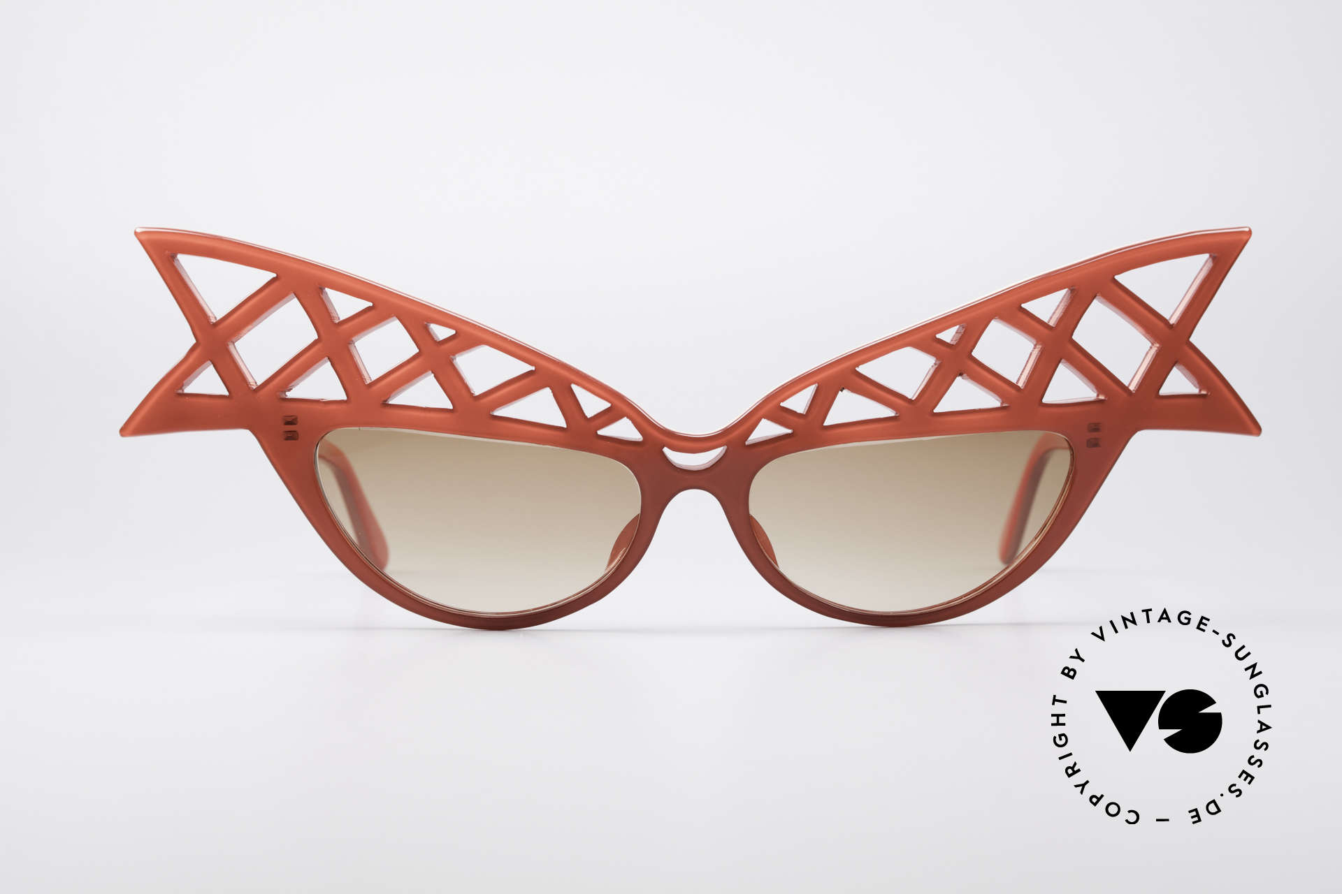 Alain Mikli WINGS Haute Couture Vintage Shades, precious designer piece from 1981 in perfect condition, Made for Women